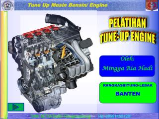 PELATIHAN TUNE-UP ENGINE