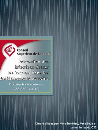 Documents de consensus CSS 8580 (2013)