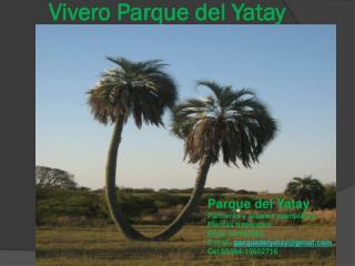 Vivero Parque del Yatay