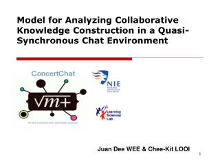 Model for Analyzing Collaborative Knowledge Construction in a Quasi-Synchronous Chat Environment