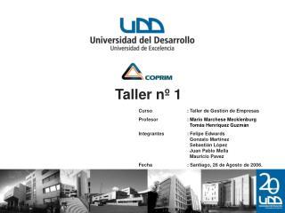 Taller nº 1