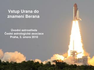 Vstup Urana do znamení Berana