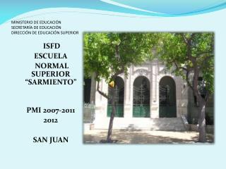 MINISTERIO DE EDUCACIÓN SECRETARÍA DE EDUCACIÓN DIRECCIÓN DE EDUCACIÓN SUPERIOR