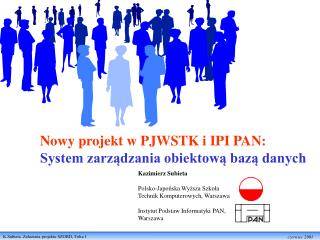 Kazimierz Subieta  Polsko-Japońska Wyższa Szkoła Technik Komputerowych, Warszawa