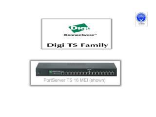 Cấu hình Digi PortServer TS16