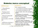 Diabetes marco conceptual
