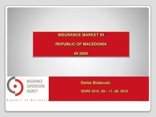 Darko  Blaževski S ORS  2010 ,  09  – 11 . 06.  2010