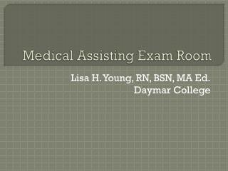 Medical Assisting Exam Room