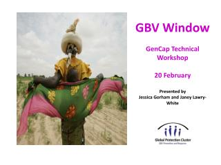 GBV Window GenCap Technical Workshop 20 February Presented by