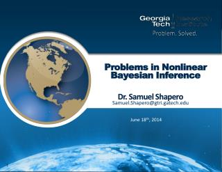 Problems in Nonlinear Bayesian Inference