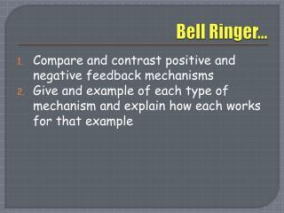 Bell Ringer…