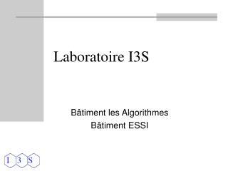 Laboratoire I3S