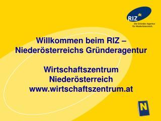RIZ Niederösterreichs Gründeragentur