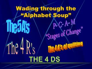 "Wading through the ""Alphabet Soup"""