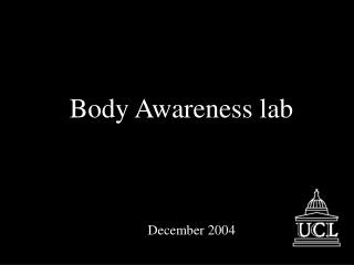 Body Awareness lab