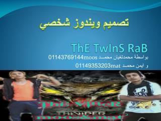 ThE TwInS RaB