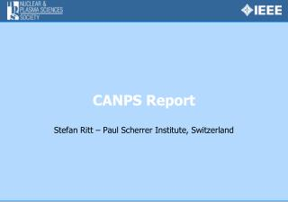 CANPS Report