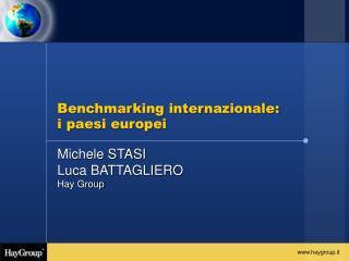 Benchmarking internazionale: i paesi europei