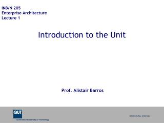 Introduction to the Unit