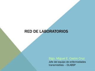 RED  DE  LABORATORIOS