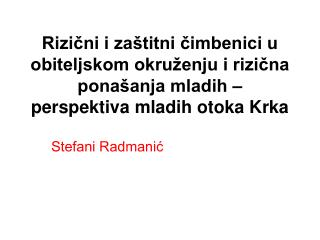 Stefani Radmanić