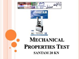 Mechanical Properties Test