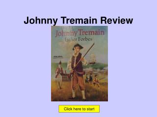 Johnny Tremain Review
