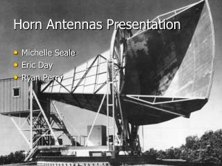Horn Antennas Presentation