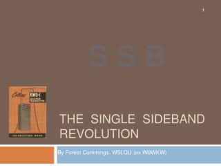 THE  SINGLE  SIDEBAND  REVOLUTION
