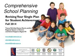 Comprehensive School Planning