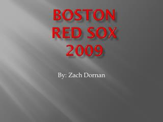 Boston Red Sox 2009