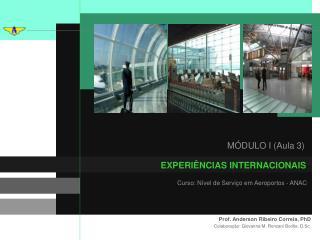 Curso: N�vel de Servi�o em Aeroportos - ANAC
