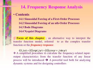 14. Frequency Response Analysis