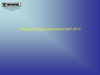 direzione centrale relazioni int.li,  comunitarie e autonomie locali via Udine, 9