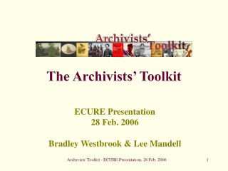 The Archivists' Toolkit