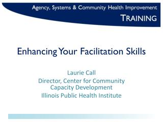 Enhancing Your Facilitation Skills