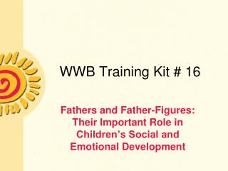 WWB Training Kit  16