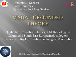 Visual Grounded Theory