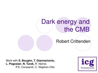 Dark energy and the CMB