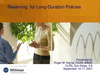 Reserving  for Long-Duration Policies