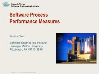 Software Process Performance Measures