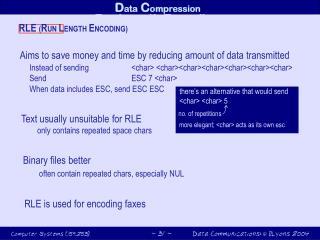 RunLength Encoding