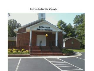 Bethsadia Baptist Church