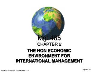 Mgt 485 CHAPTER 2