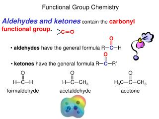 Functional Group Chemistry