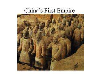 China's First Empire