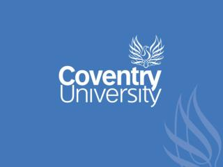 Welcome to Coventry University