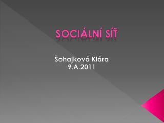 Soci�ln� s�?