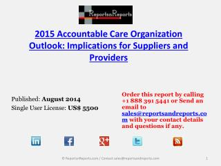 Overview of Accountable Care Organization Market – 2015