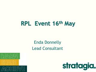 RPL  Event 16 th  May